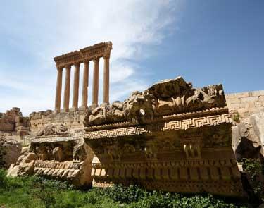 Höhepunkte des Libanons