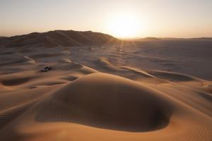 Oman - Ins Sandmeer der Rub al-Khali