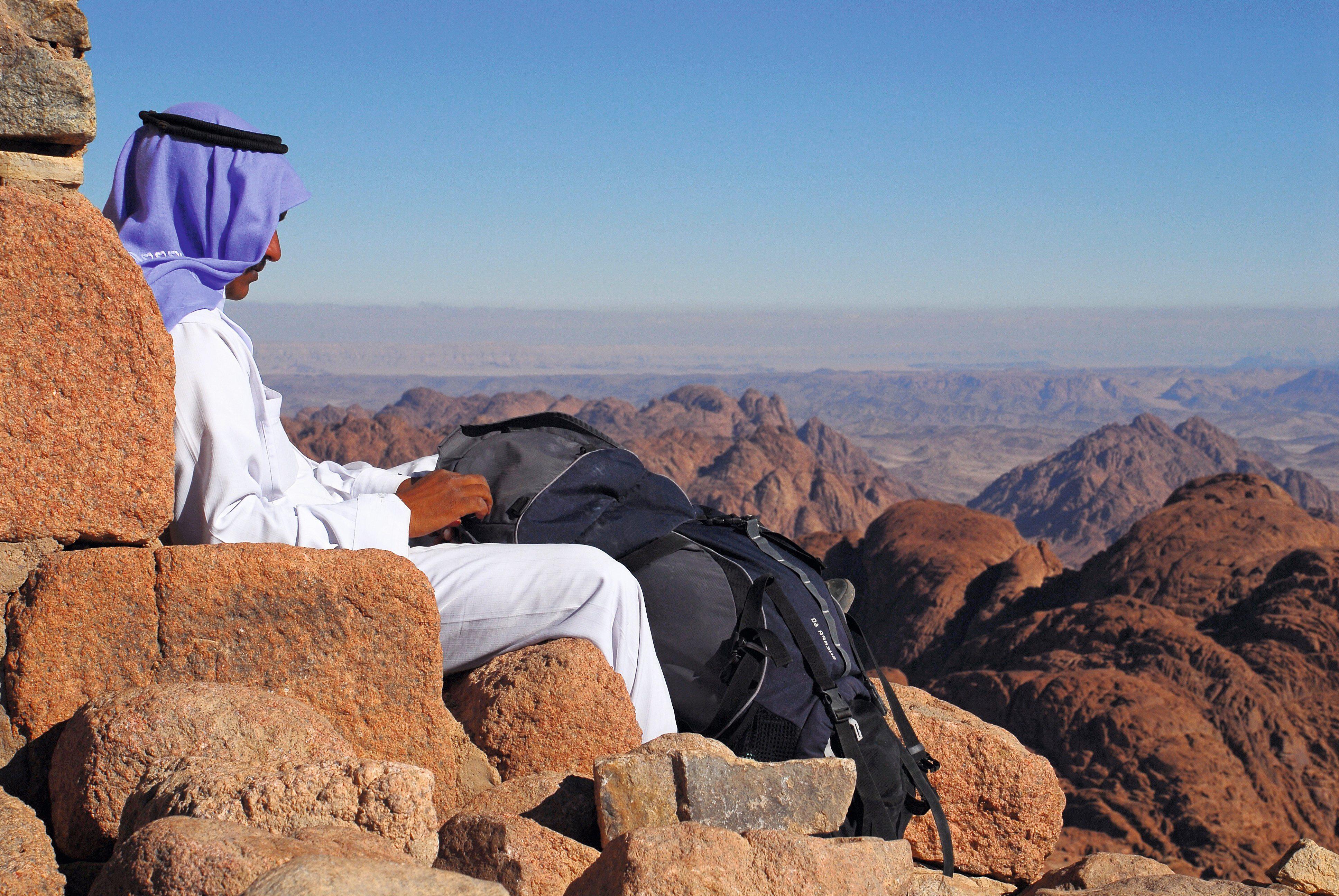 Sinai: Eremit auf Zeit im Beduinengarten